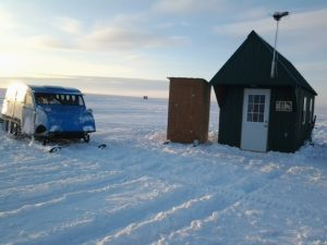 20130212 green ice house and blue bombardier