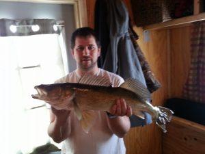 man with big fish